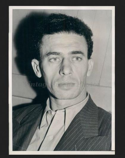 Press photo of Finkel, 1944