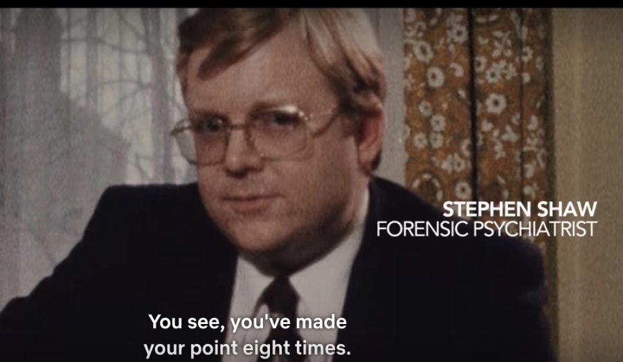 Yorkshire Ripper - forensic psychologist - made your point